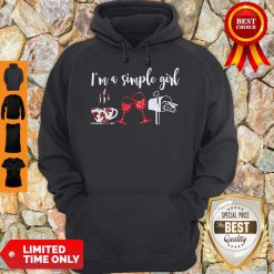 Official I'm A Simple Girl Diamond Hoodie
