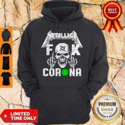 Official Skull Metallica Fuck Coronavirus Hoodie