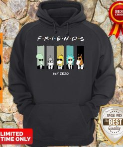 Official Rick And Morty Friends Est 2020 Hoodie