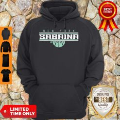Official Sabrina Ionescu New York For Hoodie