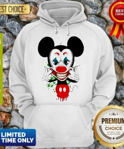 Official Mickey Mouse Style Joker Hoodie