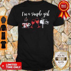 Official I'm A Simple Girl Diamond Shirt