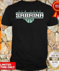 Official Sabrina Ionescu New York For Shirt
