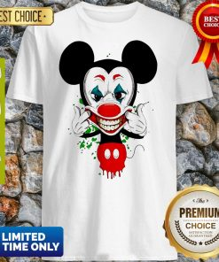 Official Mickey Mouse Style Joker Shirt