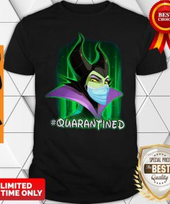 Official Maleficent Face Mask Quarantined Shirt