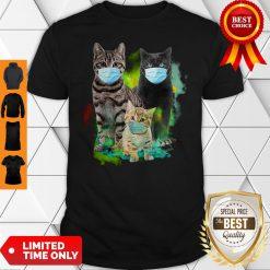 Official Cat Wear Face Mask Tee Shirt