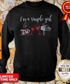 Official I'm A Simple Girl Diamond Sweatshirt