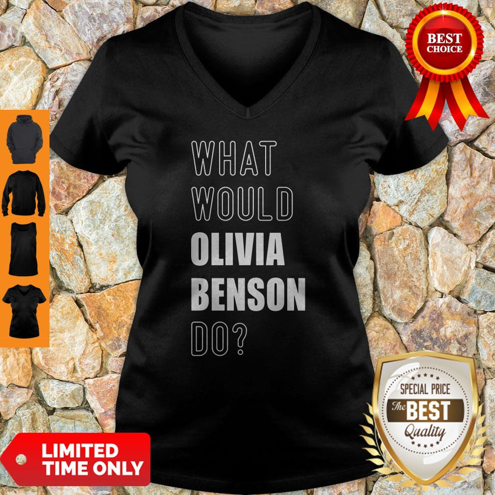 Official What Would Olivia Benson Do 2020 V-neck