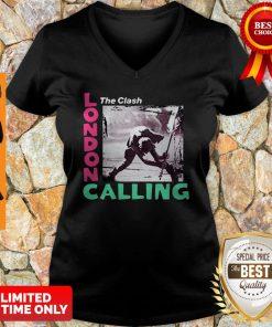 Official He Clash London Calling V-neck