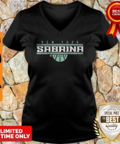 Official Sabrina Ionescu New York For V-neck