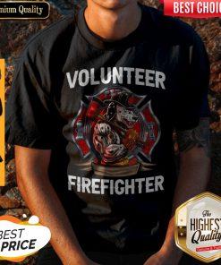 Awesome Volunteer Firefighter Vintage Shirt