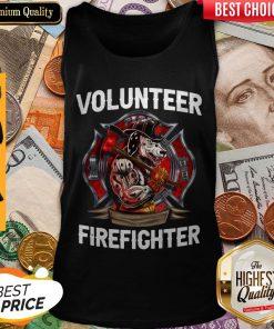 Awesome Volunteer Firefighter Vintage Tank Top