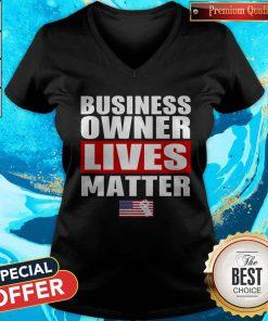 Nice Business Owner Lives Matter V-neck