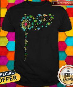 Premium Love What You Do Boa Shirt