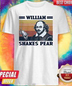 Premium William Shakes Pear Vintage Shirt