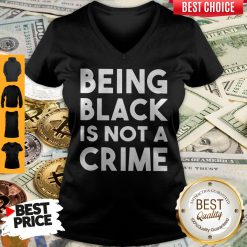 Top Being Black Is Not A Crime V-neck