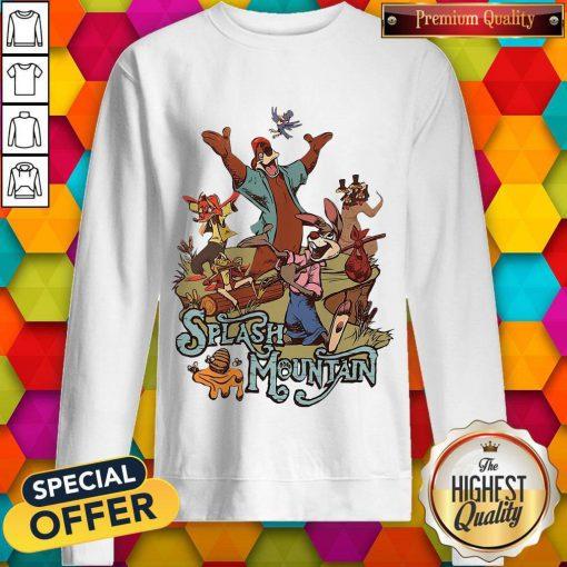 Walt Disney World Splash Mountain weatshirt
