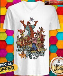 Walt Disney World Splash Mountain V-neck