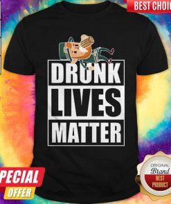 Cute Leprechaun Drunk Lives Matter Shirt