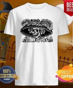 Day Of The Dead Dia De Los Muertos Skulls Vintage Skeletons Shirt