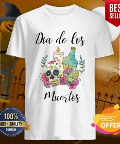 Dia De Los Muertos Day Of The Dead Sugar Skull Shirt
