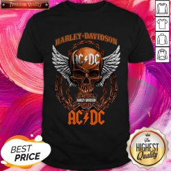 Fantastic Skull Motor Harley Davidson AC DC Halloween Shirt