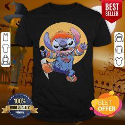 Funny Halloween Stitch Good Guys Chucky Doll Moon Shirt