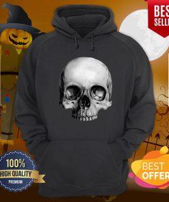 Half Skull Dia De Muertos Day Of Dead Hoodie