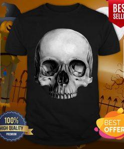 Half Skull Dia De Muertos Day Of Dead Shirt