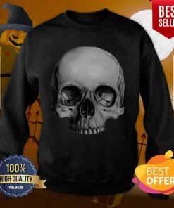 Half Skull Dia De Muertos Day Of Dead Sweatshirt