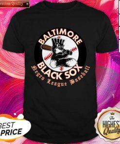 Happy Baltimore Black Sox Negro League Baseball Shirt