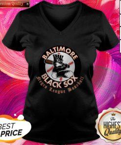 Happy Baltimore Black Sox Negro League Baseball V-neck