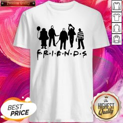 Important Friends Horror Character Halloween Shirt