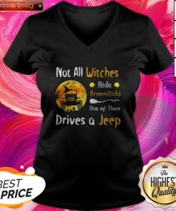 Important Halloween Truck Not All Witches Ride Broomsticks One Of Them Drives V-neck