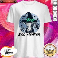 Official Halloween Boo Heifer Shirt