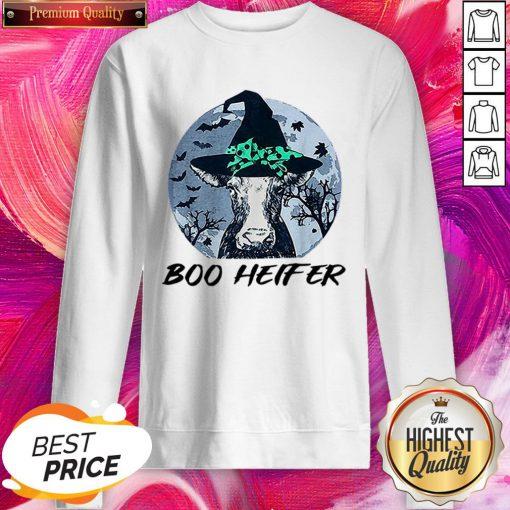 Official Halloween Boo Heifer SweatShirt
