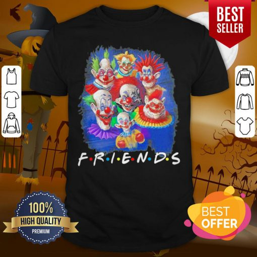 Perfect It Peniswise Characters Friends Halloween Shirt