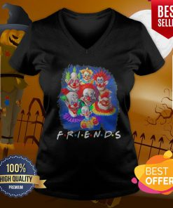 Perfect It Peniswise Characters Friends Halloween V-neck