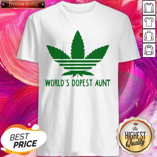 Premium I Have World's Dopest Aunt Shirt