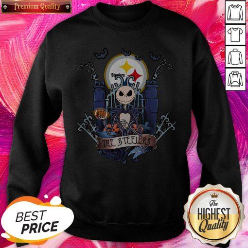 Pretty The Pittsburgh Steelers Jack Skellington This Is Halloween NHL Sweatshirt
