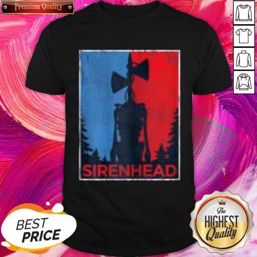 Pro Halloween Scary Siren Head Creature Vintage Meme Character Gifts Shirt