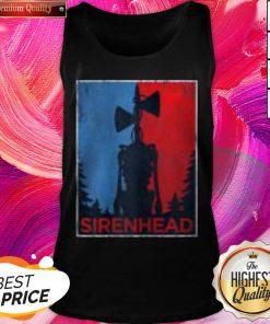 Pro Halloween Scary Siren Head Creature Vintage Meme Character Gifts Tank Top