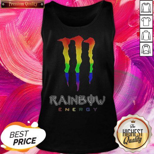 Rainbow Energy LGBT Premium Official Top Nice Perfect Tank Top
