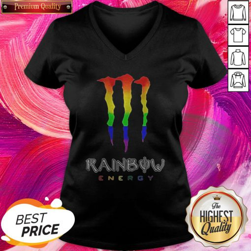 Rainbow Energy LGBT Premium Official Top Nice Perfect V-neck