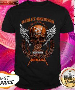Skull Motor Harley Davidson Metallica Halloween Shirt