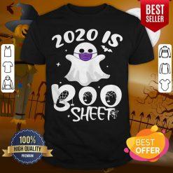 Wonderful Halloween Is Boo Ghost Wear Mask 2020 Gift Shirt