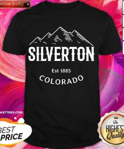 Attractive Silverton Colorado Vintage Rocky Mountain Novelty Shirt - Design By Thelasttees.com