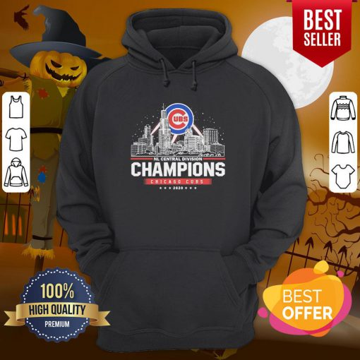 NL Central Division Champions Chicago Cubs 2020 Hoodie