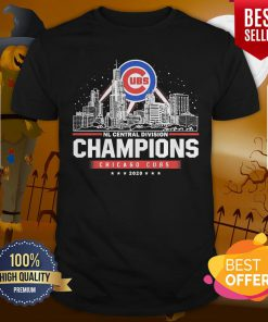 NL Central Division Champions Chicago Cubs 2020 Shirt