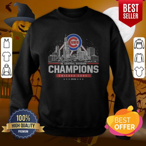 NL Central Division Champions Chicago Cubs 2020 Sweatshirt